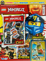 Lego®Ninjago Magazin Nr.53 mit Figur Cole + Karte LE4 ,OVP