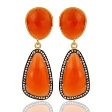 Womens Dangle Earrings Gemstone 925 Sterling Silver New women's fashion Jewelry