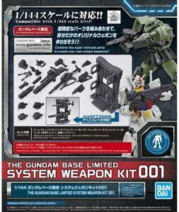 BANDAI SPIRITS THE GUNDAM BASE LIMITED 1/144 SYSTEM WEAPON KIT MODEL KIT