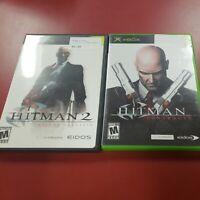 Hitman: Contracts (Original Microsoft Xbox, 2004) and hitman 2 bundle
