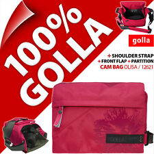 New Golla Camera Case +Shoulder Strap Digital SLR DSLR Cameras Water Resistant
