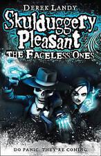 The Faceless Ones (Skulduggery Pleasant)-ExLibrary