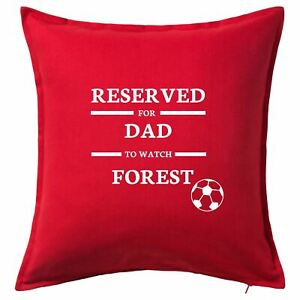 Reserved For Personalised Nottingham Forest Football Cushion Cover