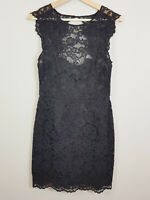 FOREVER NEW | Womens Black Lace Bodycon Dress [ Size AU 10 or US 6 ]