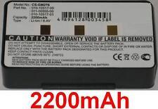 Batterie 2200mAh pour GARMIN GPSMAP 276c