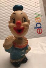 Vintage Knickerbocker Clown Wind Up Dancing Animals Toy Bobble Head Nodder