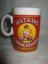 Watkins Baking Powder Soup Bowl Mug Cup Collectibles 1992 Vintage Advertising