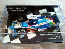 MINICHAMPS 1/43 - Jean ALESI - BENETTON RENAULT B 197 - GP JAPAN 1997 -