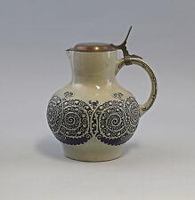 7945054 Keramik Weinkanne Krug Westerwald Jugendstil um 1915 2,5 Liter