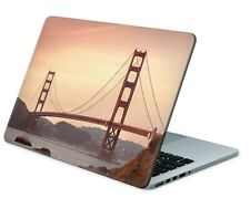 Universal Laptop Skin Notebook Netbook Aufkleber Sticker Cover Golden Gate