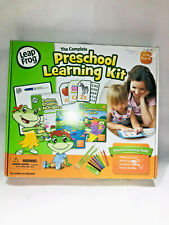 LeapFrog Preschool Learning Kit Alphabet Colors Shapes & Numbers Flash Cards