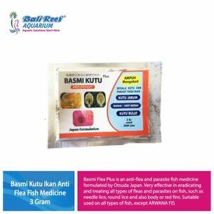 Basmi Kutu  Anti Flea Fish Medicine AntiParasitic Koi Fish Anti Flea Gold Fish