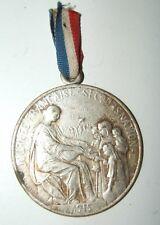 MEDAILLE DE JOURNEE 14 /18 - JOURNEE FRANCAISE SECOURS NATIONAL 1915