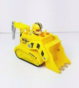 PAW Patrol Rubble Lights and Sounds Bulldozer with Figure (B)