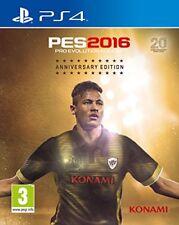 Konami Ps4 - Pro Evolution soccer Anniversary Edition PES 2016 -17/09/15