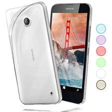Nokia Lumia 630 520 530 620 625 Silicone Case Transparent Slim Case Cover