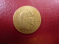 Coin France Gold 10 Francs Napoleon III Avg Circ 1854-1868