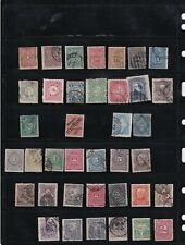 Uruguay Stamp Collection on Stock Card - Mint and Used