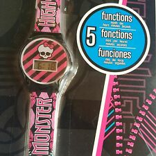 KIDS Girls Monster HIGH 'Montre' Official Licensed Digital Watch Wristwatch RARE