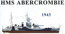 WWII HMS Abercrombie 1/350 Scale with Free Totalnavy Anchor Chain