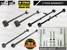 FOR NISSAN X TRAIL T30 REAR UPPER LOWER SUSPENSION ARMS LINKS RODS + NUTS BOLTS