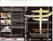 American Shaolin:King of The Kickboxers 2-2002-Drew Carson-Movie-DVD