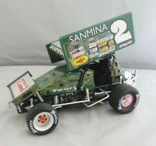 Brad Furr GMP 1:18th Scale Diecast Sprint Car #2 Sanmina Green Paint