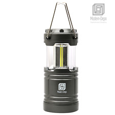 Portable COB LED Camping Lantern 350 lumens Flashlight w/ Magnetic base