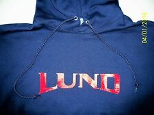 Lund Boats Screen Printed Hooded Sweatshirt 9.3 oz. Heavy Weight