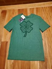 Boston Bruins Fanatics Branded St. Patrick's Day White Logo T-Shirt - Green