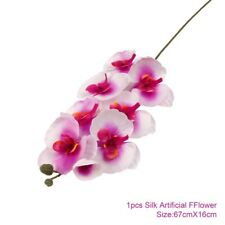 Artificial Flowers Silk Butterfly Orchid Wedding Party Bouquet Home Decoration