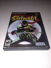 Shinobi PS2 Ninja Game Sony Play Station 2 Video Games