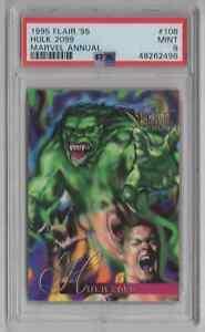 1995 Flair '95 Marvel Annual #106 Hulk 2099 - PSA 9 MINT - NEWLY GRADED   (LL22)