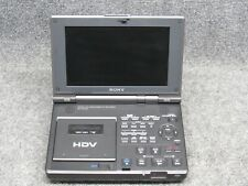 Sony Model GV-HD700 HDV Digital HD Videocassette Recorder/Player/Video Walkman