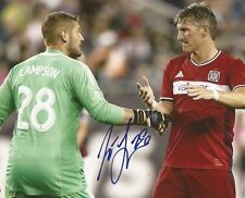 Matt Lampson signed Chicago Fire MLS Soccer 8x10 photo autographed