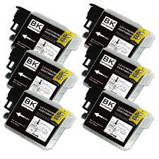 6 BLACK Ink Cartridge for Series LC61 Brother MFC J410w J415w J615W J630W 5890CN
