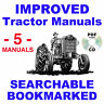 Ford 701 901 Tractor SERVICE, PARTS Catalog, OWNERS Manual -5- Manuals 1953-1964