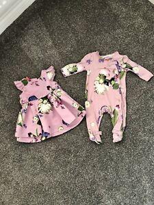 Ted Baker baby girls 3-6 months Bundle