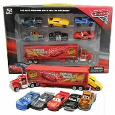 1:64 Cars 2 McQueen Racer Car&Mack Truck Kids Toy Collection Set Xmas Gifts 7PCS