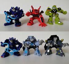 Película Transformers Robot Heroes Lote de 6 figuras