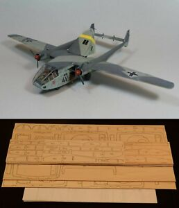 "82"" Ws GOTHA GO 244B-1 R/c Plane partial kit/short kit and plans, PLEASE READ!"