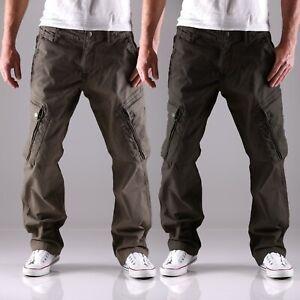 Big Seven XXL Dasher Cargo comfort loose fit Herren Hose Jeans Übergröße neu