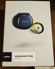 Bose SoundSport Free Wireless Earbuds - Navy/Citron
