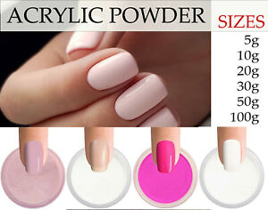 100% Acrylic Powder Nail Enhancement Best Quality 11 Colours UK Fast Delivery