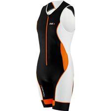 Louis Garneau Pro Carbon Triathlon Bike Cycling Suit Men's Xl Black Orange