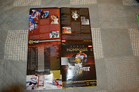 RARE  2009 CANADIENS GUY LAFLEUR HOMMAGE SERIE BOOKLET