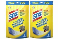 S.O.S Reusable Soap Filled Non-Scratch Scrubbers 2 Bag Pack
