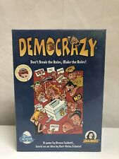 Democrazy Game from Blue Games 2000 COMPLETE w New Cards