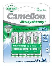 4 St. Camelion AlwaysReady NiMH Akku AA Mignon Hr6 600mah