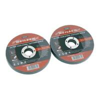 "10X ULTRA THIN METAL ANGLE GRINDER CUTTING DISCS 115mm 4.5"" SLITTING"